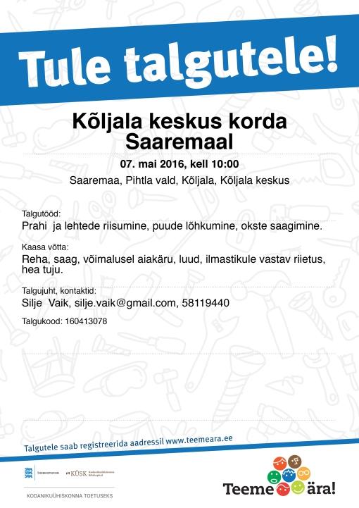 Tule_talgutele_2016_Kuulutus_A4.indd